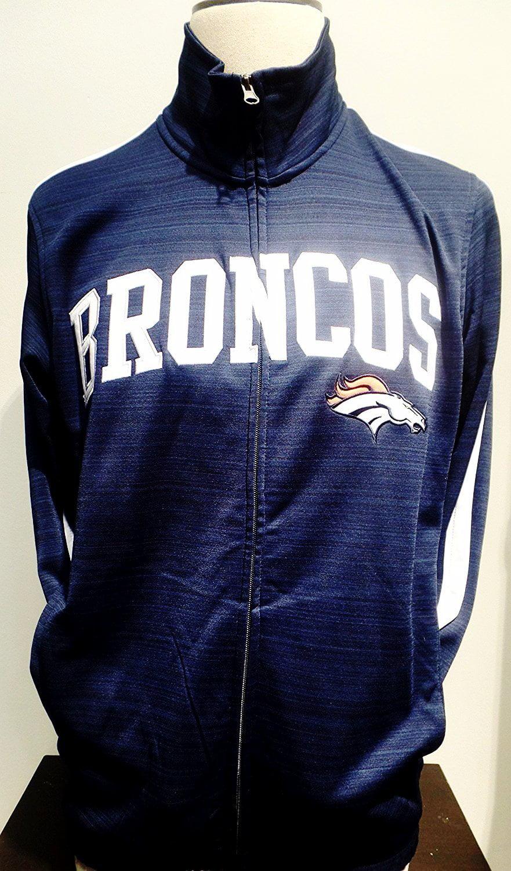 Denver Broncos Full-zip Poly Fleece Navy Jacket by G-III Sports