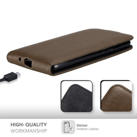 Cadorabo Case for Huawei Y5 2018 cover - Flip Style Case with Magnetic Closure