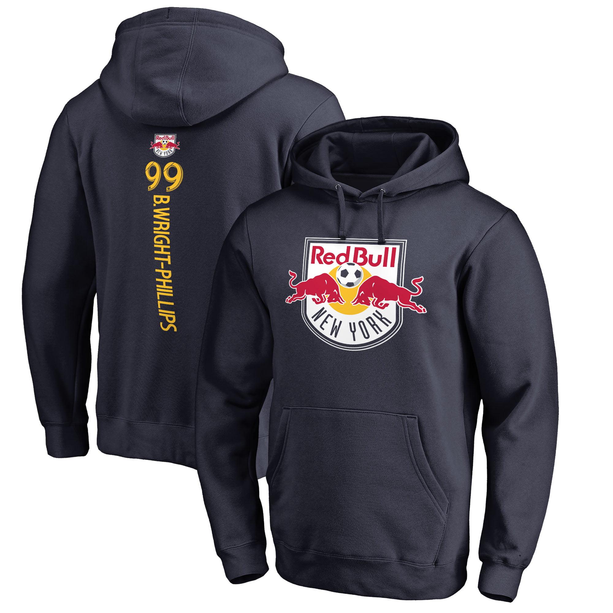 Bradley Wright-Phillips New York Red Bulls Fanatics Branded Backer Name & Number Pullover Hoodie - Navy