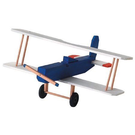 Wood Model Kit, Biplane](Wood Building Kits For Kids)