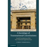 A Sociology of Transnational Constitutions - eBook
