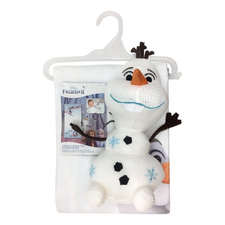 Disney Frozen 2 Olaf Bath Hugger And Towel