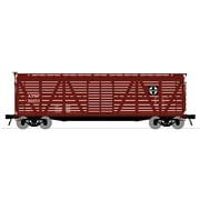 Broadway Limited 3359 N Santa Fe PRR K7 Stock Car with Hog Sounds