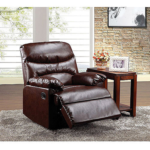 Arcadia Bonded Leather Recliner, Multiple Colors by Acme
