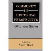 Community in Historical Perspective