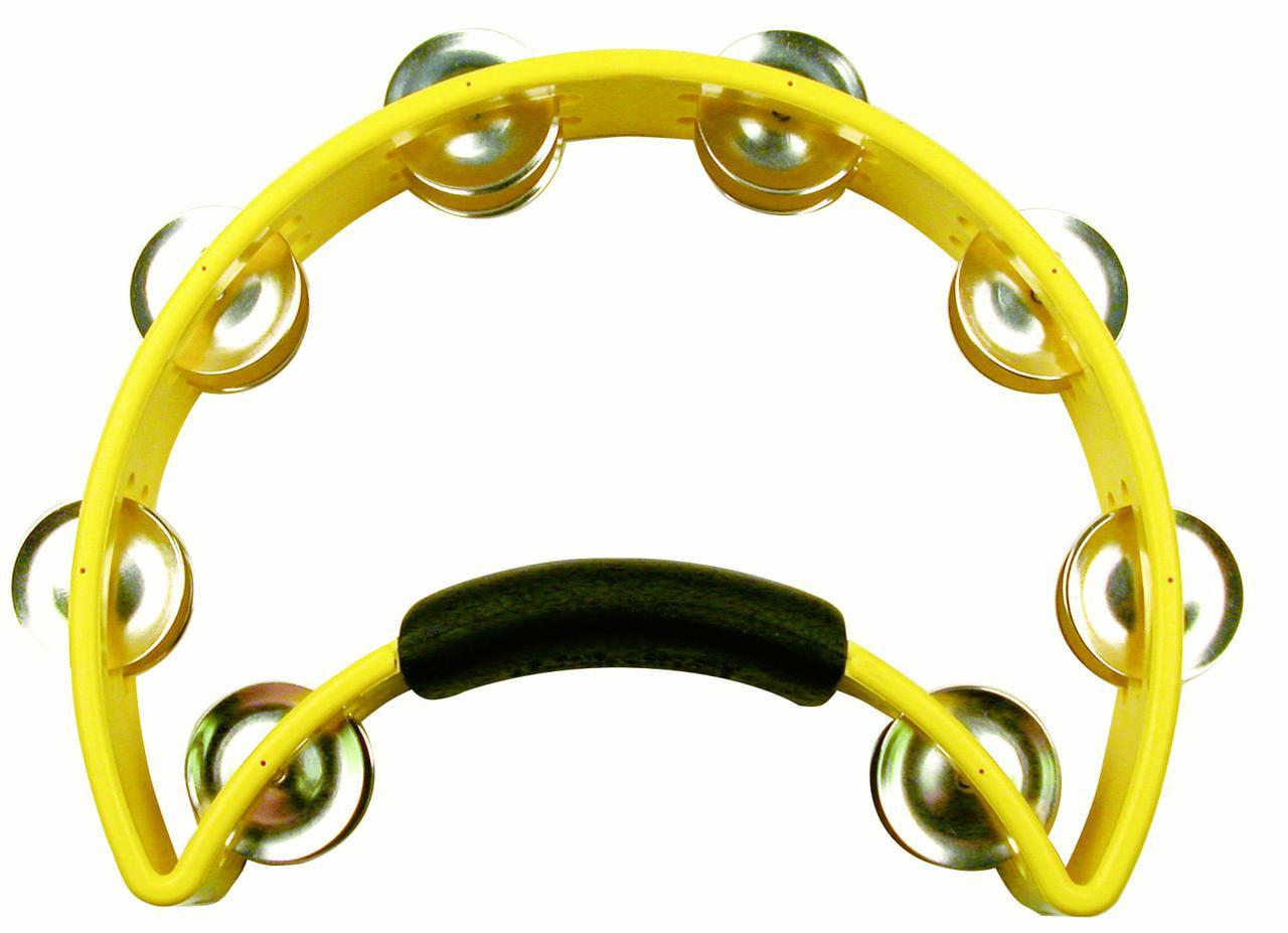 Rhythm Tech RT1050 Tambourine Yellow by Rhythm Tech