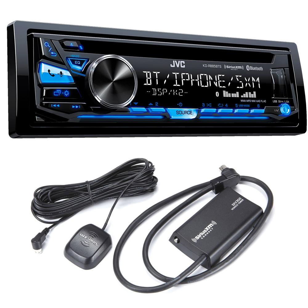 JVC KD-R885BTS CD Receiver with Sirius XM Tuner by JVC