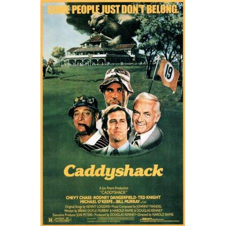 Pop Culture Graphics MOVIF8156 Caddyshack Movie Poster Print, 27 x 40 (Caddyshack Movie Poster)