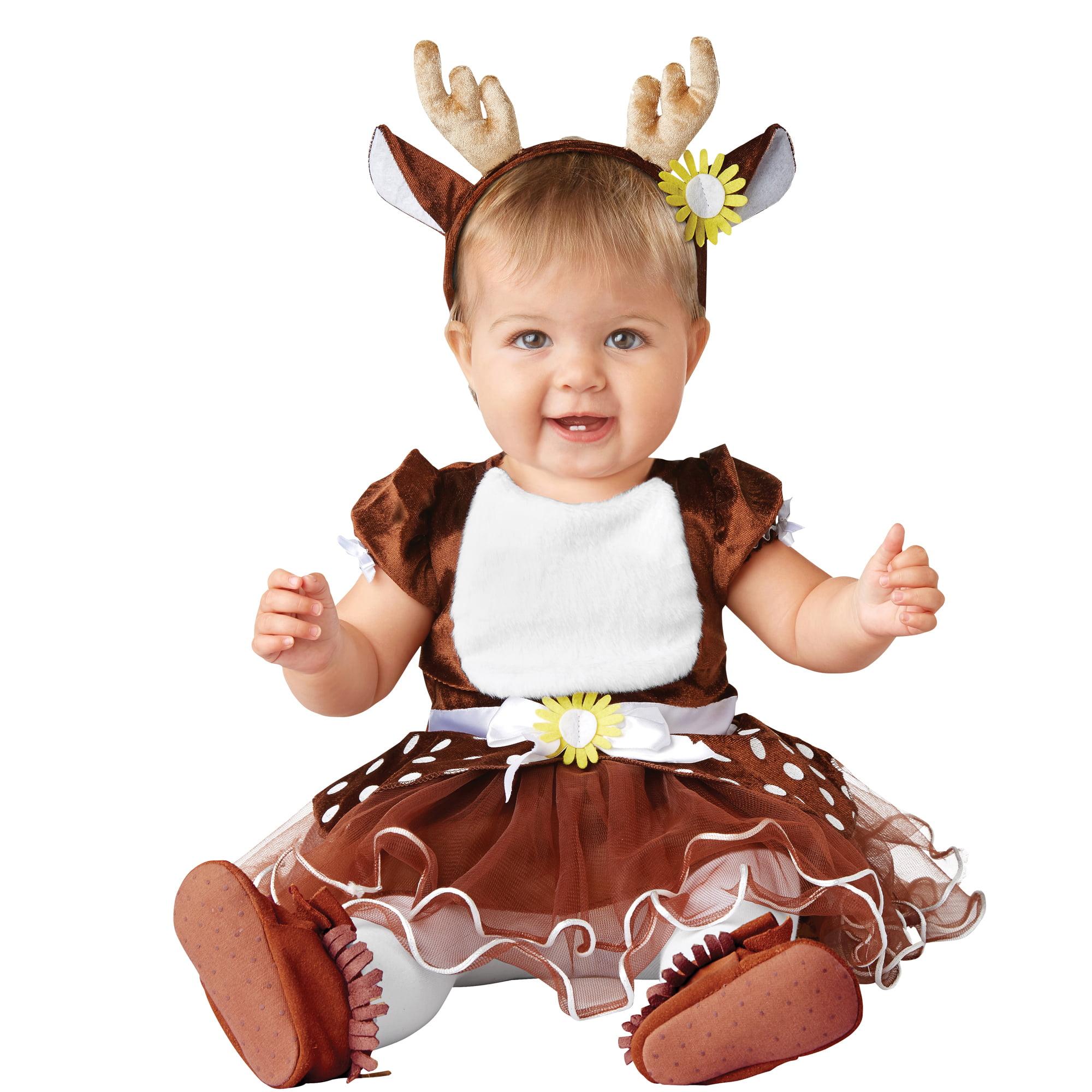 Baby Photo Prop Costume Halloween Infant Deer size md