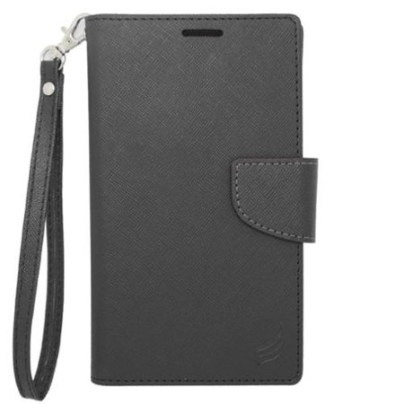 Insten Book-Style Leather Case For iPhone 6 6s / HTC One M7 M8 LG Tribute HD X Style Google Nexus 4 5 K7 / Motorola Droid Maxx Moto G (3rd Gen) / Samsung Galaxy Sol On5 Grand Amp Prime S3 S4