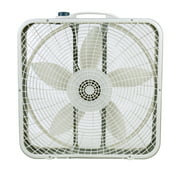 "Lasko 20"" Premium Box 3-Speed Fan with Innovative Wind Ring System, Model 3723, Gray"