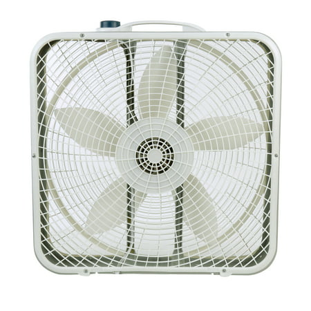 "Lasko 20"" Premium Box 3-Speed Fan, Model #3723, Gray"