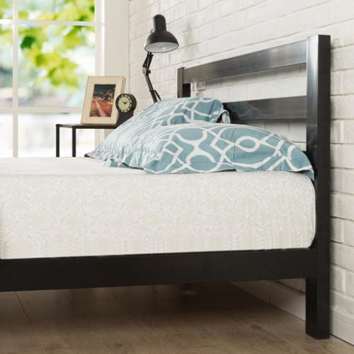 Priage  Platform 2000H Bed Frame with Headboard, Twin