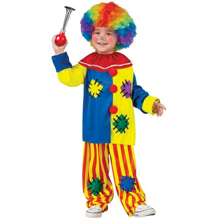 Big Top Clown Toddler Costume - Clown Toddler Costume