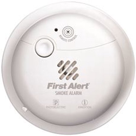 First Alert Photo/Ion Smoke Alarm, 2 Aa Batteries