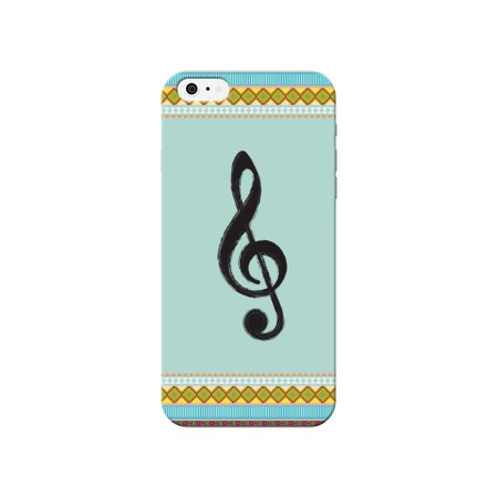 85w Apple - Patterned Music Treble Clef Back Phone Cover for the Apple Iphone 5 / 5s Case By iCandy Products