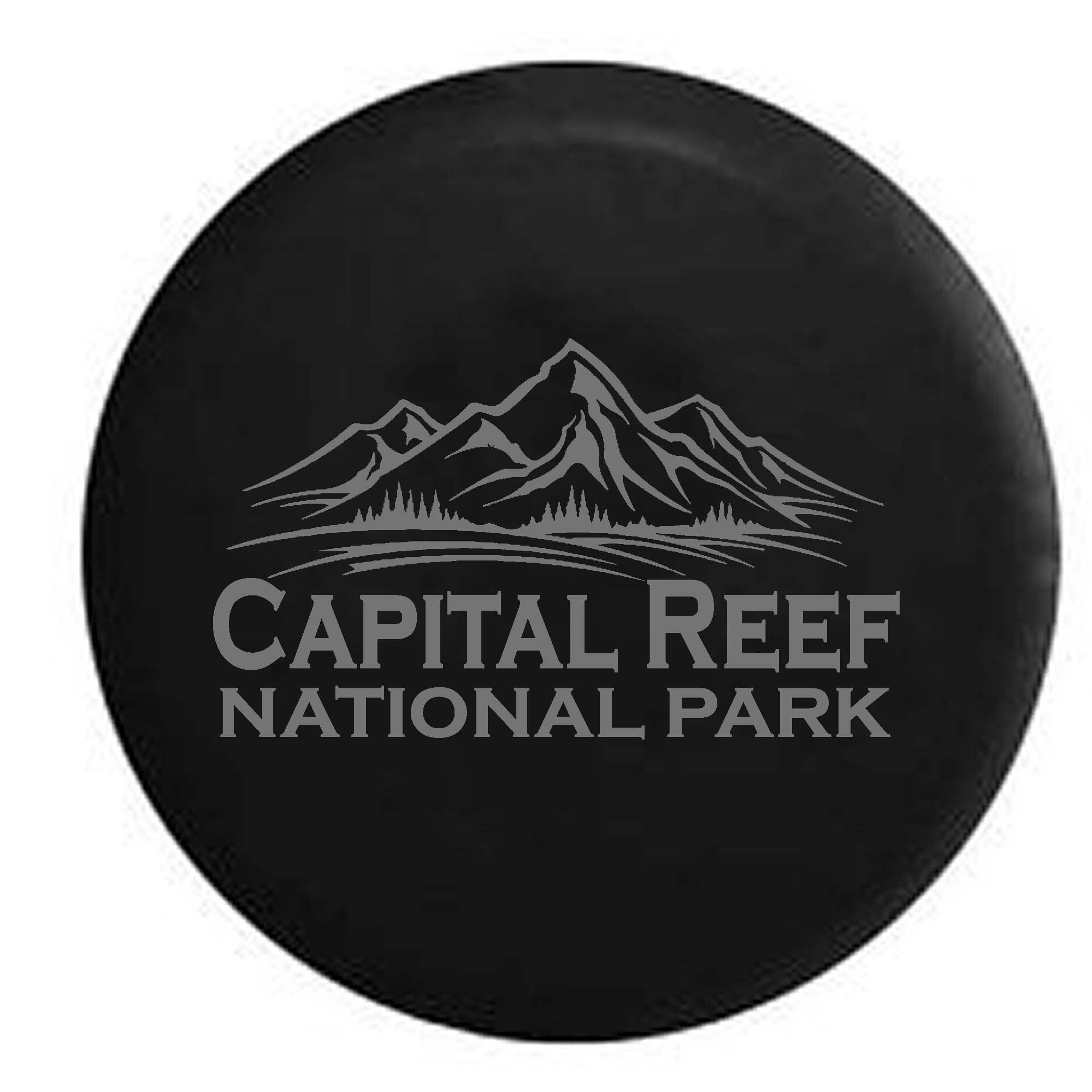 Capital Reef National Park Utah Trailer RV Spare Tire Cov...