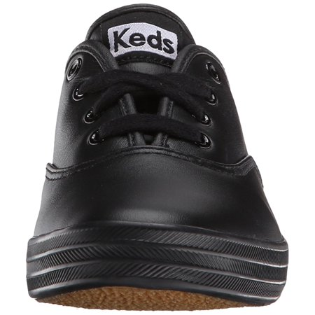 3b940a091f8d Keds Womens Champion Leather Low Top Lace Up Fashion Sneakers - image 1 of  2 ...