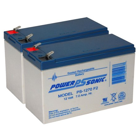 PS -1270 2 Volt 7.0 AH Rechargeable Sealed Lead Acid BatteryRechargeable battery that can be mounted in any position, resists shocks and vibration By Powersonic