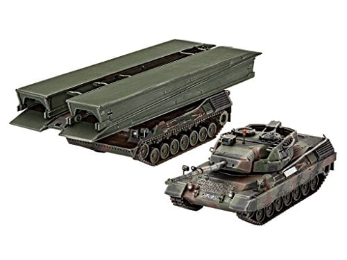 Revell of Germany Leopard 1A5 & Bridgelayer Hobby Model Kit by Hobbico Inc