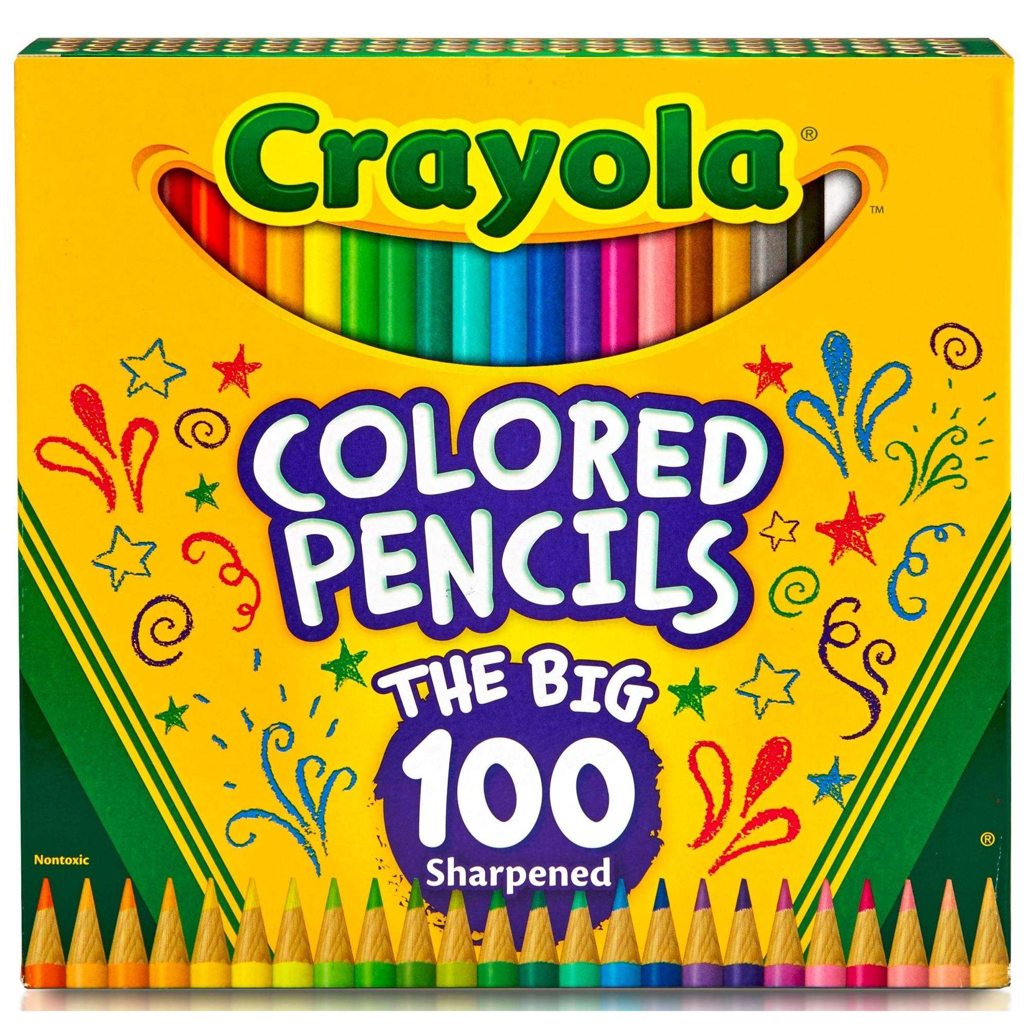 Crayola Colored Pencils, 100 Count
