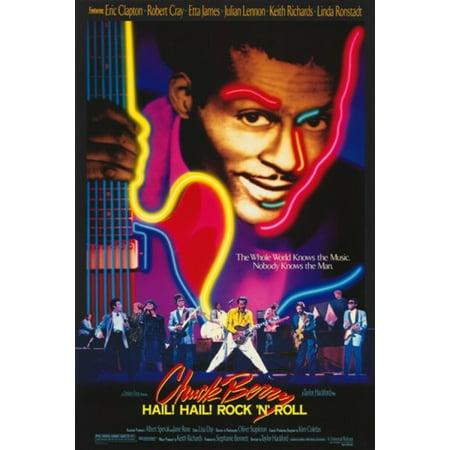 Chuck Berry Hail Hail Rock N Roll Movie Poster (11 x