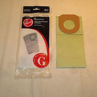 Genuine Hoover Style G Vacuum Bags Type Vac 4010008G Broom Pixie Handivac Quik [54 Bags]