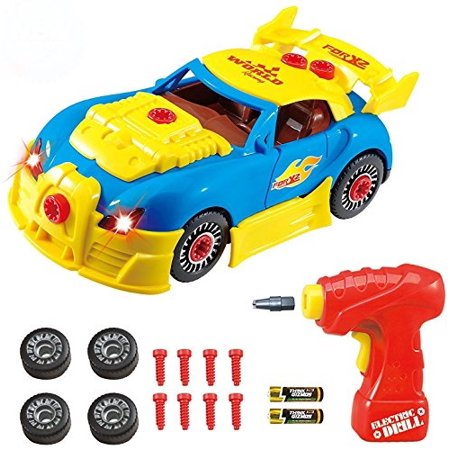 Take Apart Toy Racing Car Kit For Kids Tg642 Version2 Build