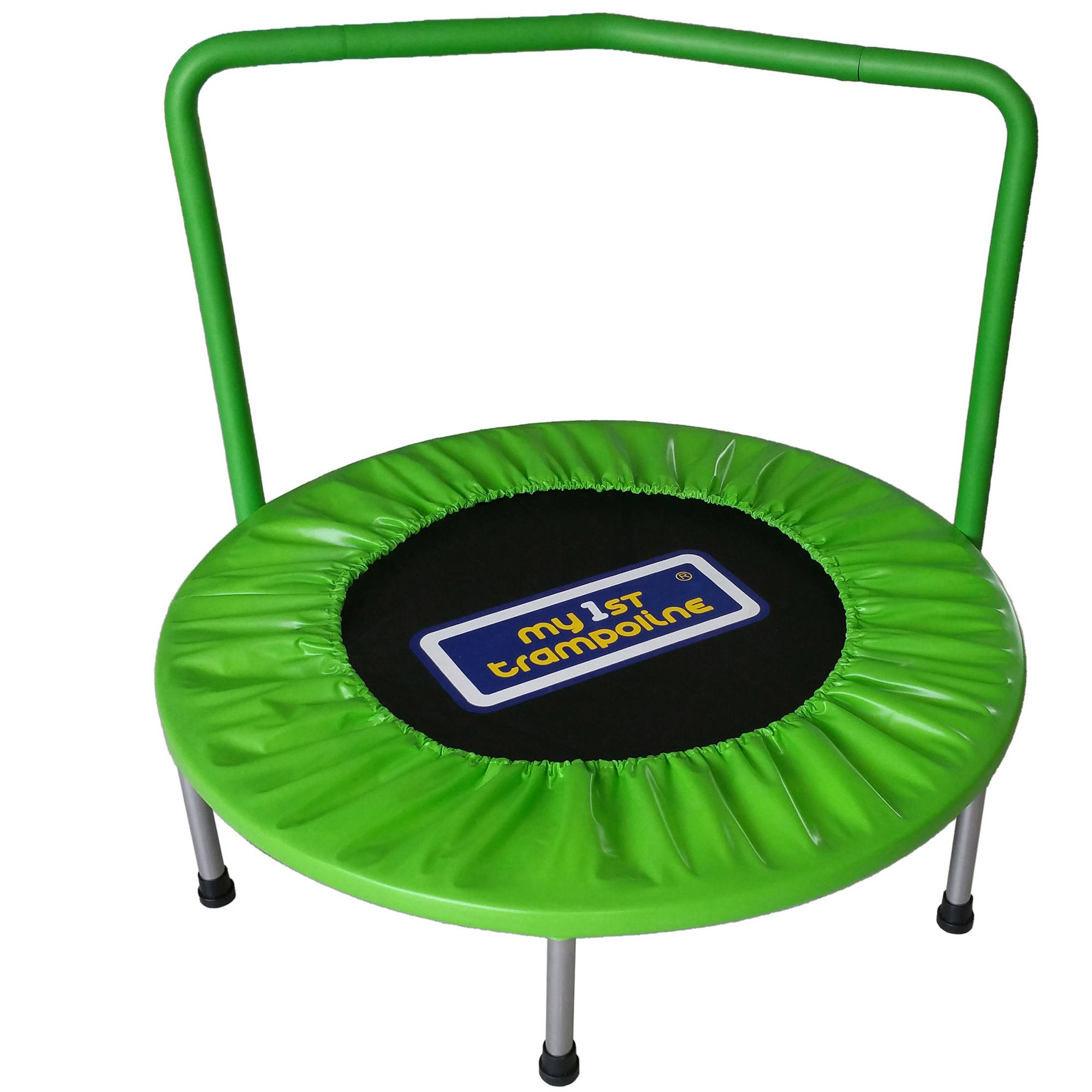 My First Trampoline 36-Inch Mini Trampoline, Lime Green