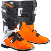 Gaerne GX-J MX Youth MX Offroad Boots Black/Orange 6 USA