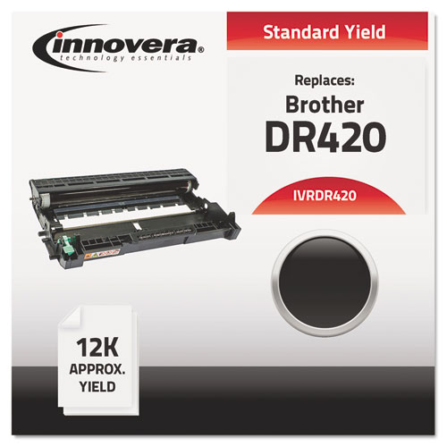 INNOVERA Printer Drum,DR420,Max. Page Yield 1200 IVRDR420