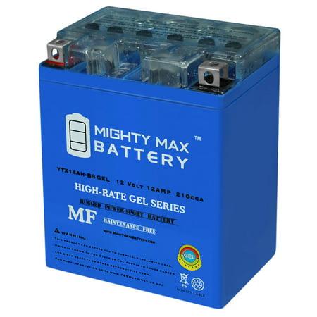 YTX14AH 12V 12AH GEL Battery for Yamaha 350 YFM35B Bruin