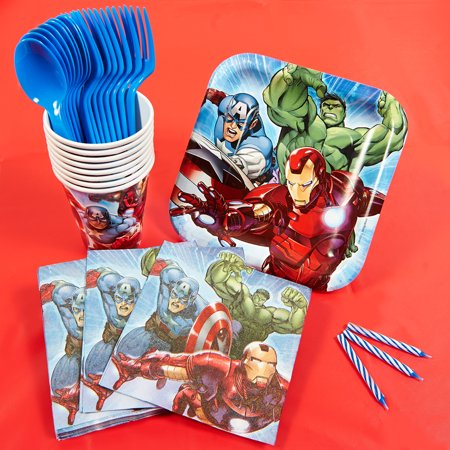 Marvel Avengers Assemble Basic Party Kit
