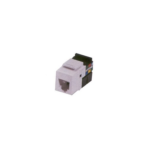 Leviton M16-5G108-00W White Cat 5E Jacks 10-Pack