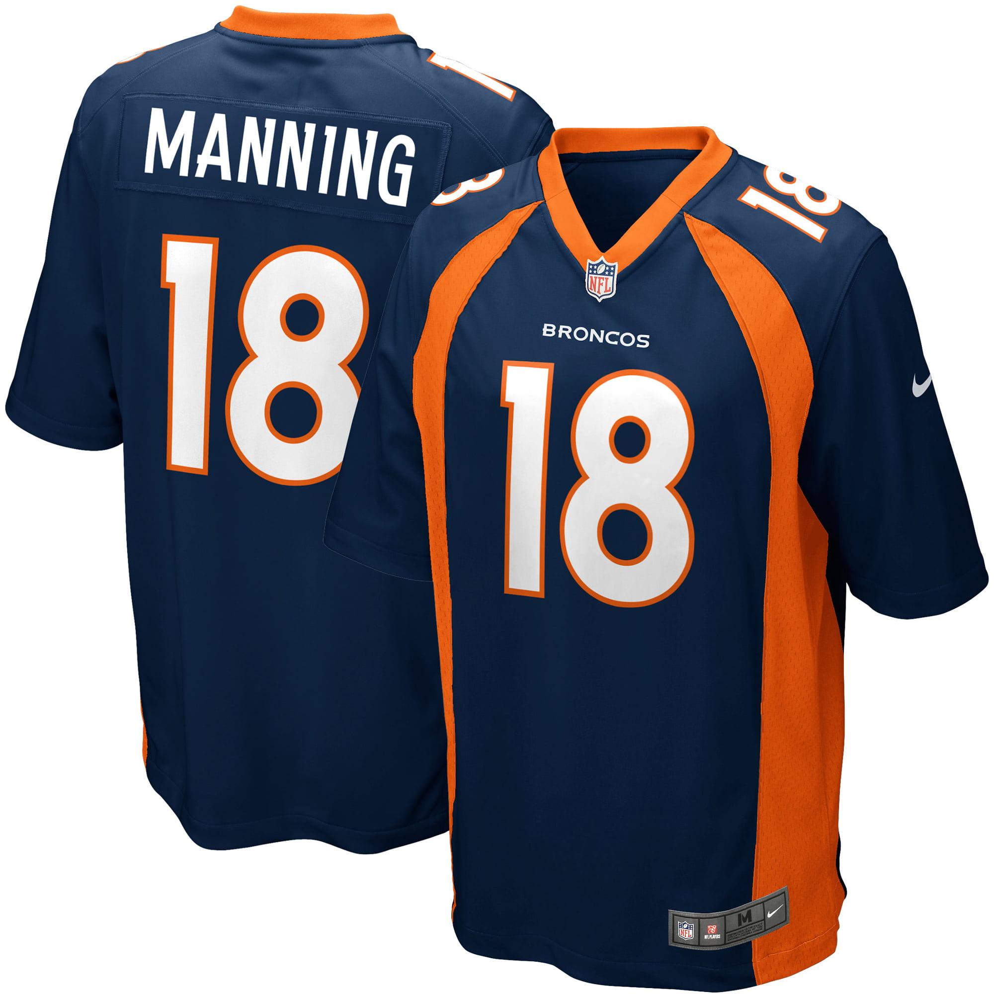 Peyton Manning Denver Broncos Nike Youth Alternate Game Jersey - Navy Blue - Yth XL