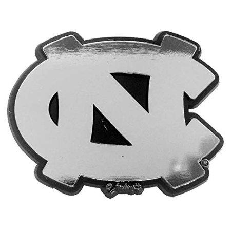 Jenkins Enterprises North Carolina Tar Heels Silver Tone Auto Emblem - image 1 of 1