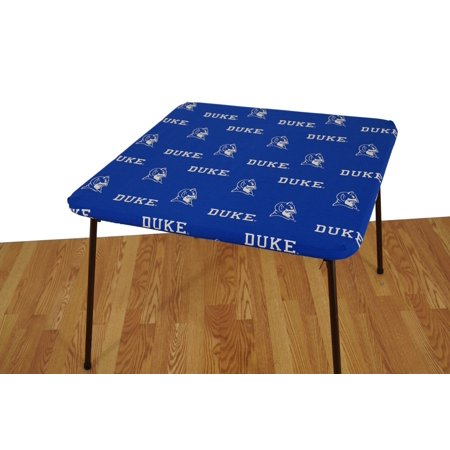 College Covers Fan Shop Duke Blue Devils Fitted Card Table Cover - 33 x 33 (Devils Table)