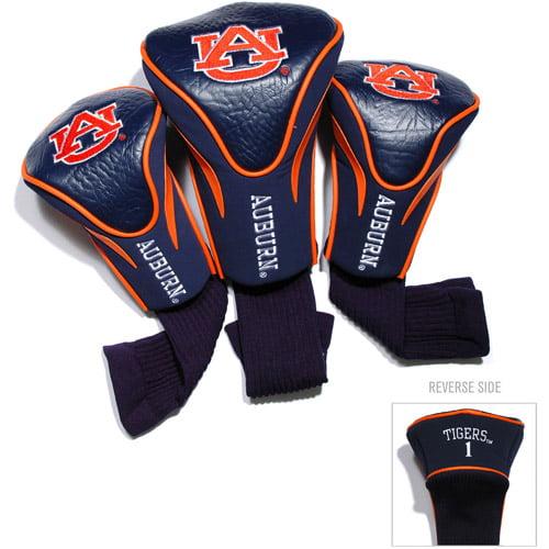 Team Golf NCAA Auburn 3 Pack Contour Head Covers
