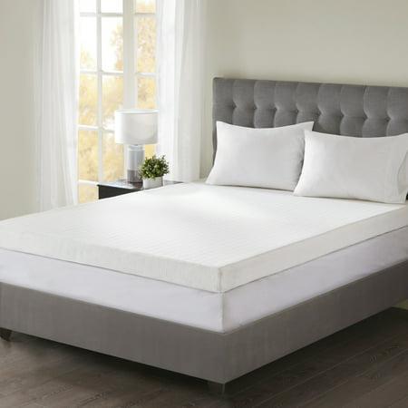 Comfort Classics 4 Quot Memory Foam Mattress Topper Walmart Com