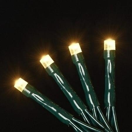 Roman 63333 - 52' 200 Light USB Powered Warm White Micro LED Christmas Light String Set 3