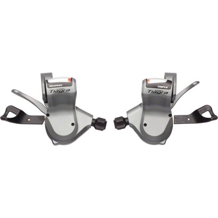 Shimano Tiagra 4603 10-Speed Triple Flat Bar Road Shifter (Shimano 105 Flat Bar Shifters 10 Speed)