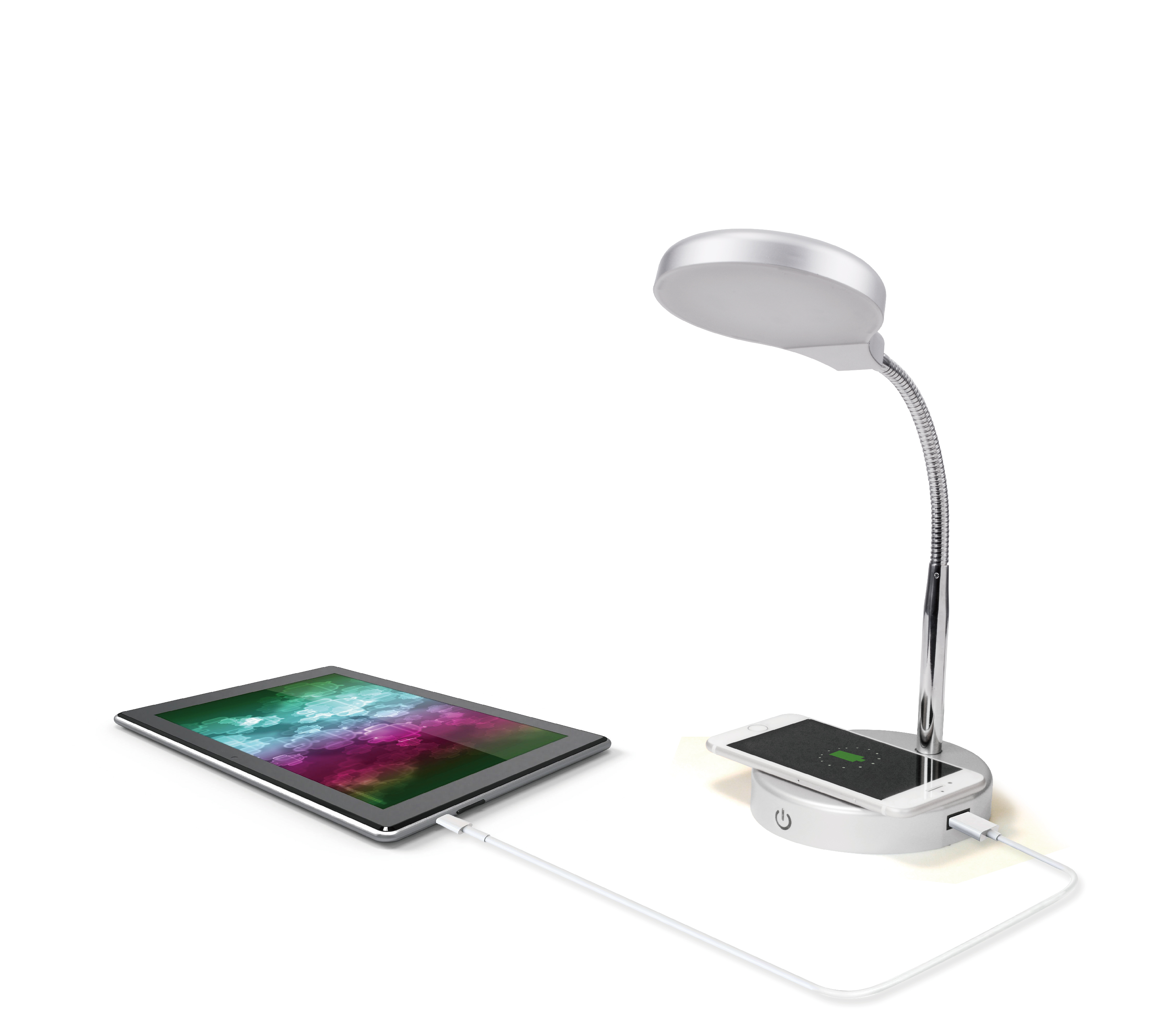 Mainstays LED Desk Lamp with W...