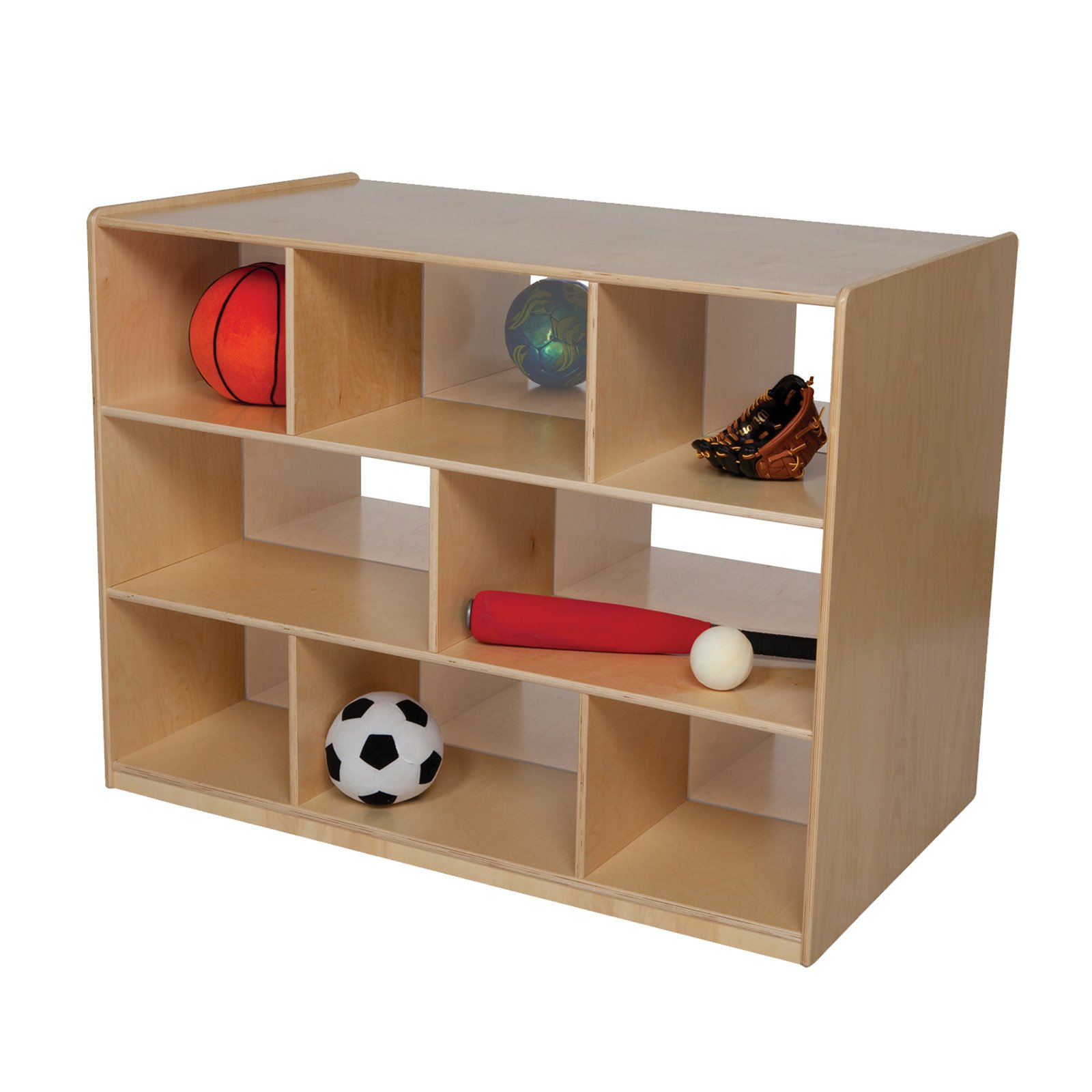 Wood Designs Double Storage Island with Acrylic - 36H in.