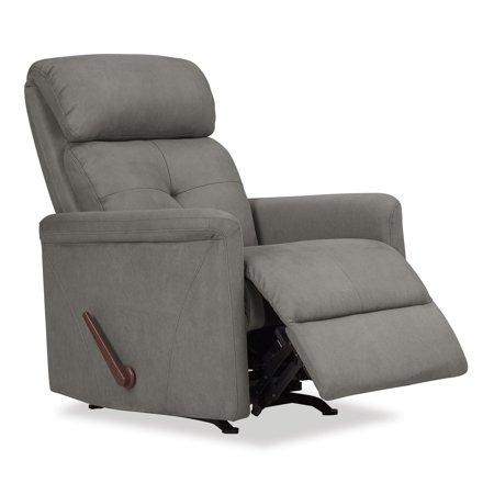 Toronto Rocker Recliner Chair in Gray