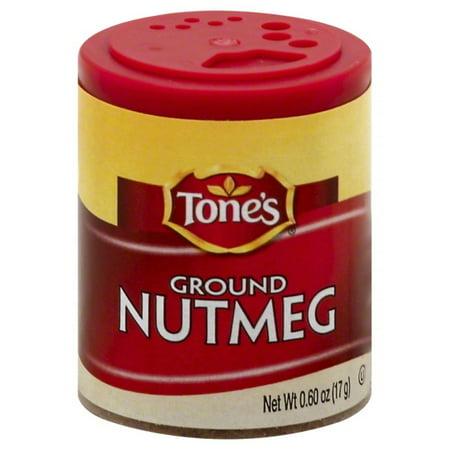 Tone's Ground Nutmeg, 0.6 Oz - Nutmeg Leaf