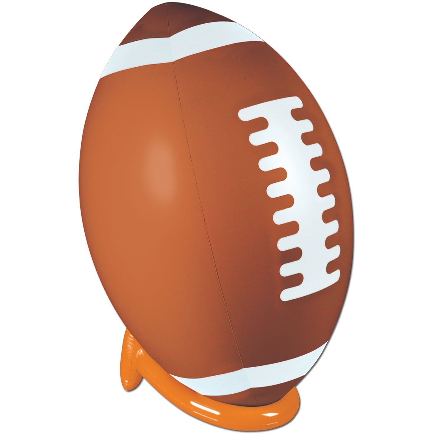 Inflatable Football & Tee Set 39in. Pkg 6, Ideal for eye-catching displays By Beistle by