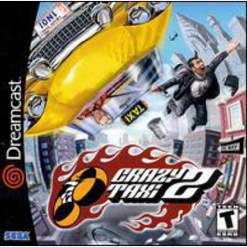 Crazy Taxi 2 Sega Dreamcast by