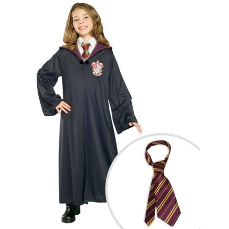 Harry Potter Gryffindor Robe Child Costume and Harry Potter Tie - Gryffindor Robe And Tie