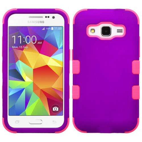 Samsung G360 Galaxy Prevail MyBat TUFF Hybrid Phone Protector Cover