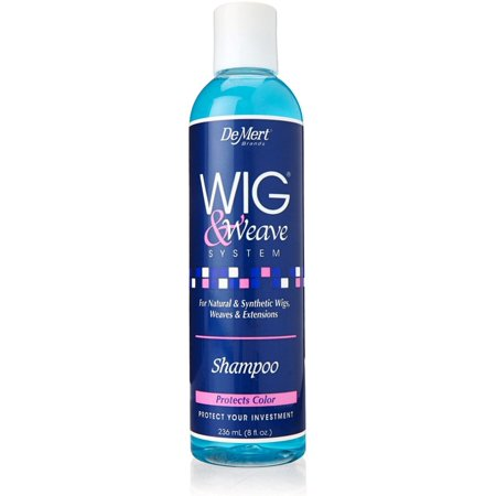 Demert  Wig & Weave System Shampoo 8 oz (Best Shampoo For Synthetic Wigs)